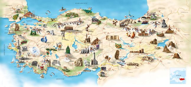 Turkey historical sites